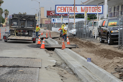Construction Traffic Control : Sbx construction update for july omnitrans news