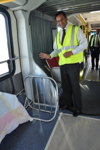 First Sbx Bus Arrives At Omnitrans Omnitrans News